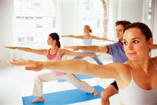 exercise class dating