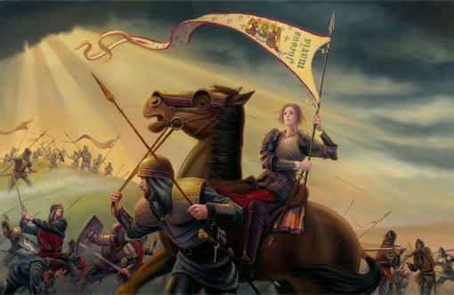 A biography of saint joan of arc the maid of france