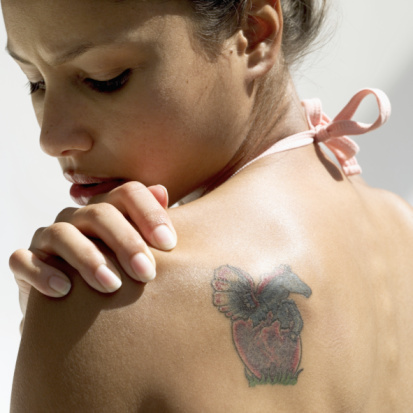 Fda warns about tattoo infections women of grace for Red tattoo ink problems