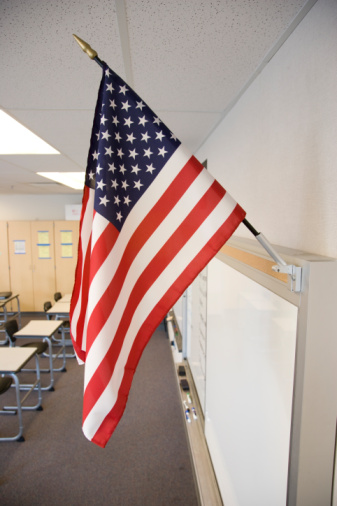 Teacher Suspended For Stomping On Flag Women Of Grace