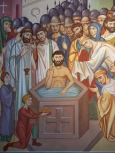St AugustineCanterburybaptizingKing