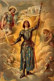 St JoanofArcwithAngels