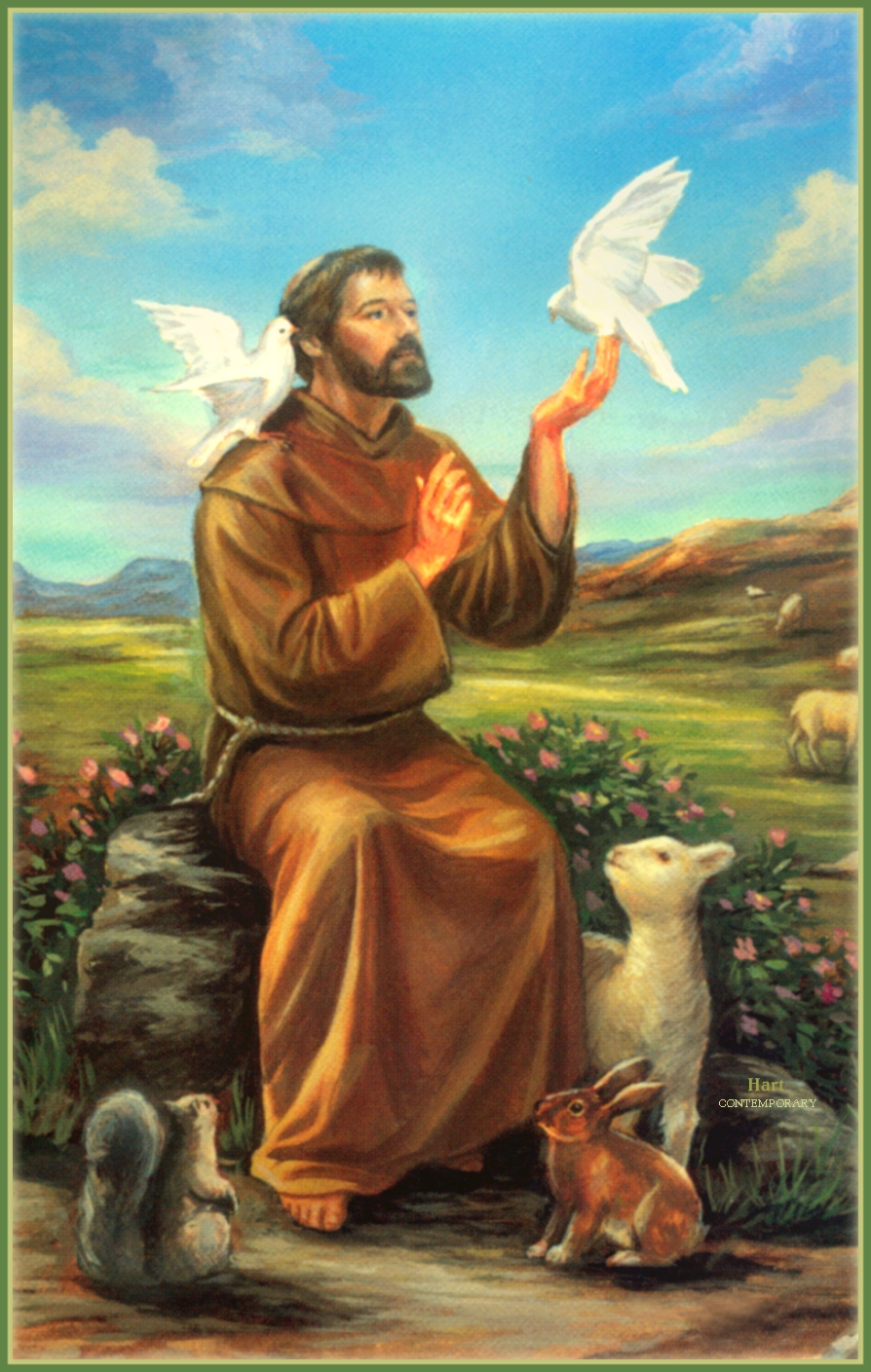 the life of st francis of assisi Before looking at the first key moment in the life of saint francis of assisi, let's set  the stage by focusing on his early life francis was born in 1182 in assisi.