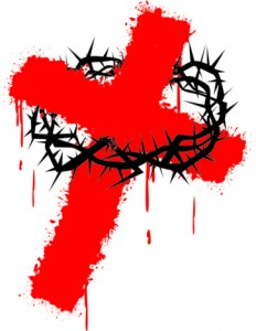 bloody cross