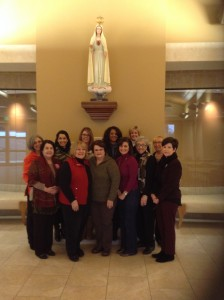 Women of Grace Facilitator Training Day at Our Lady of the Rosary, Lafayette, LA