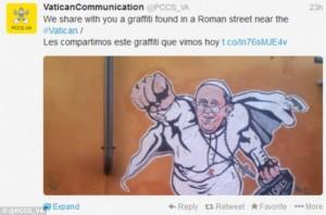 pope superhero