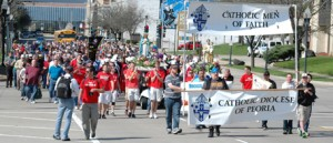 Peoria march