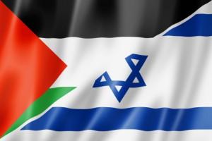 palestinian israeli flag