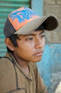 Latino teen