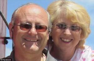 Nancy Writebol with her husband, David