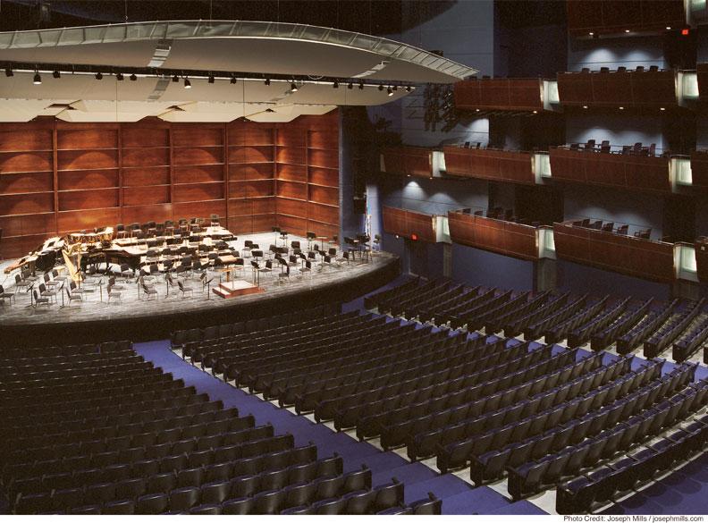 Inside The OK City Civic Center