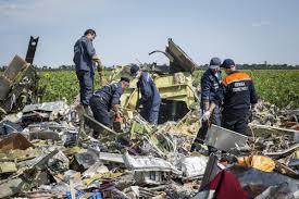 MH17 crash scene
