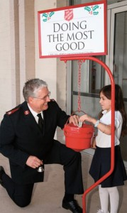 salvation army kettles