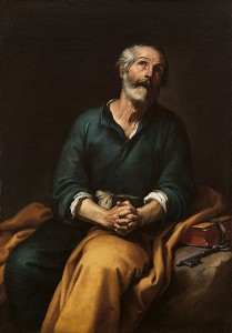 Prayer St Peter in Tears,distractions