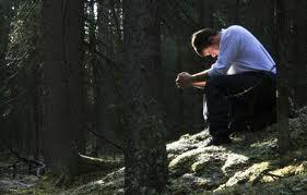 Praying holyman