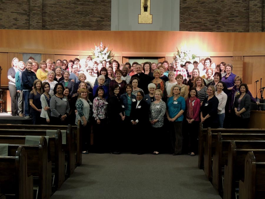 St. Rita Catholic Church Lenten Women of Grace Commencement