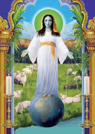 Mary Our lady of all nationsa