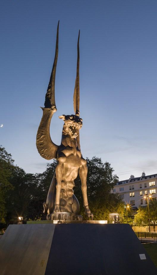 London S New Demonic Monument To Feminism Women Of