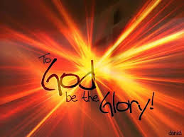 God glory
