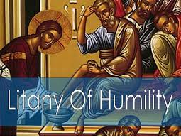 Humility - litany of