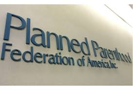 planned parenthood federation of america sign