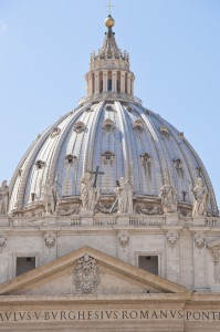 vatican st peters dome