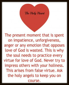 Virtue Holy Heart