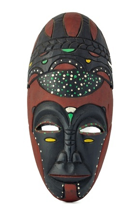 what to do with a spooky african mask women of grace
