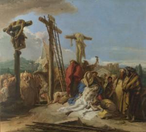 Crucifixion-lamentation-foot-cross-