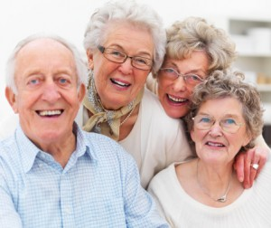 elderly group
