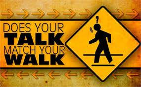 walk the talk 1