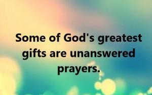 Unanswered Prayers 5