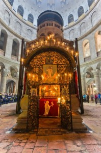 The Edicule in the Church of the Holy Sepulchre
