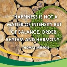 happiness harmony & order