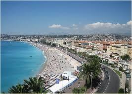 The Promenade de Anglais in Nice, France