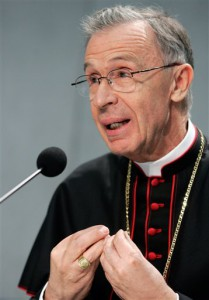 Archbishop Luis Ladaria Ferre will serve as president of the new commission.
