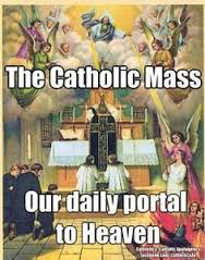 Communicant, mass daily