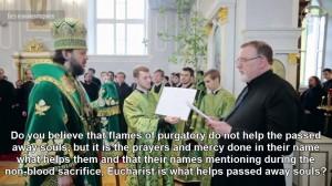 Priests, Purgatory, Mass