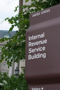 40620838 - irs headquarters sign in washington d.c.
