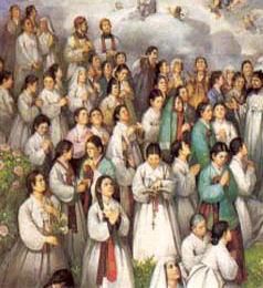 St Andrew Kim & St Paul Chong Hasang & Companions