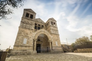 48436765 - christian church on biblical mount tabor, galilee, israel