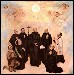 St IsaacJogues, JohnDeBrebeuf & companions
