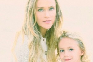 Katie May and her daughter Mia