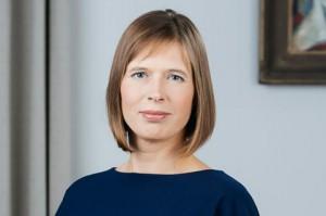 Kersti Kaljulaid, President of Estonia