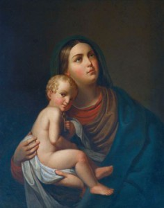 10004838 - blessed virgin mary with baby jesus