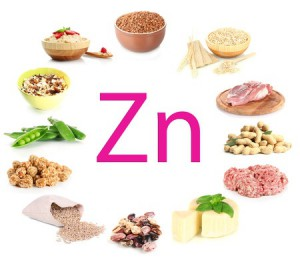 23382881 - collage of products containing zinc