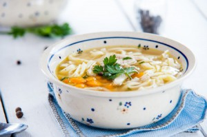 44037014 - hot and alible chicken soup