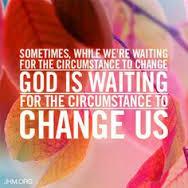 God waiting