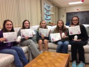 YWOG pioneers certificates