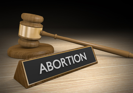 45352241 - court legal concept of abortion law